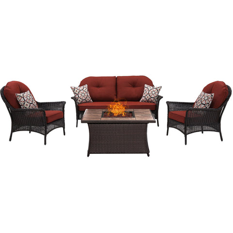 hanover-san-marino-4-piece-fire-pit-set-with-tan-tile-top-smar4pcfp-red-tn