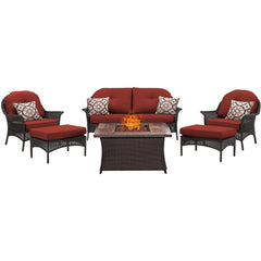 hanover-san-marino-6-piece-fire-pit-set-with-wood-grain-tile-top-smar6pcfp-red-wg