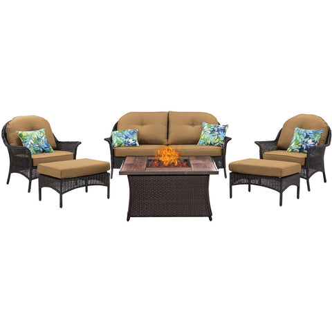 hanover-san-marino-6-piece-fire-pit-set-with-wood-grain-tile-top-smar6pcfp-tan-wg