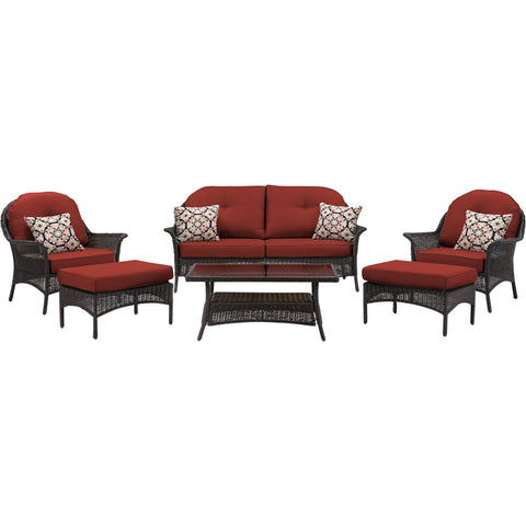 hanover-san-marino-6-piece-set-1-loveseat-2-side-chairs-2-ottomans-1-coffee-table-smar-6pc-red