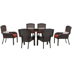 hanover-strathmere-7-piece-dining-set-6-dining-chairs-1-woven-glass-top-table-stradn7pc-red