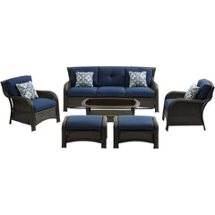 hanover-strathmere-6-piece-sofa-2-side-chairs-2-ottomans-woven-coffee-table-strath6pc-s-nvy
