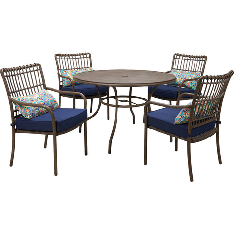 hanover-summerland-5-piece-4-dining-chairs-and-48-inch-round-table-sumdn5pc-nvy