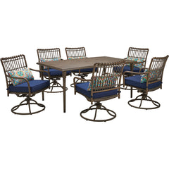 hanover-summerland-7-piece-6-swivel-dining-chairs-and-68x40-inch-rect.-table-sumdn7pcsw6-nvy