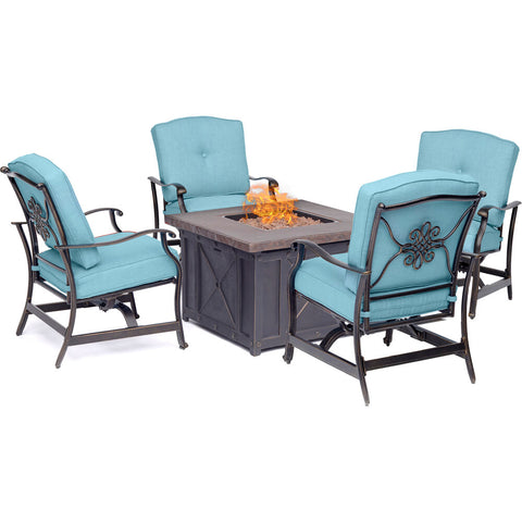 hanover-summer-nights-5-piece-fire-pit-1-gas-fire-pit-4-aluminum-inside-rock-cushion-chairs-summrnght5pcblu