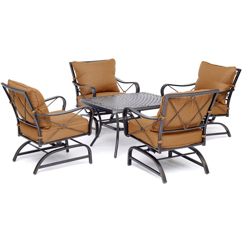 hanover-summer-nights-5-piece-4-cushioned-rockers-and-cast-top-coffee-table-summrnght5pcct