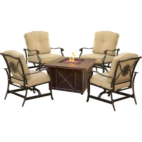 hanover-summer-nights-5-piece-fire-pit-1-gas-fire-pit-4-aluminum-inside-rock-cushion-chairs-summrnght5pctan
