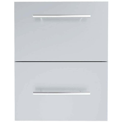 Designer Series Raised Style 18-inch Paper Towel Drawer Combo - M&K Grills