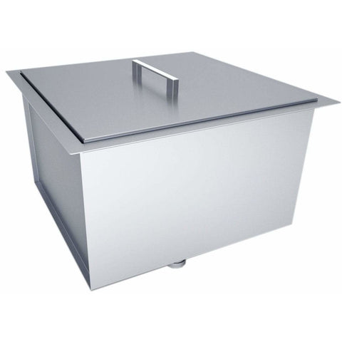 Sunstone 20 x 12 inch insulated basin sink with cover B-SK20 - M&K Grills