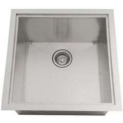 Sunstone 20 x 12 inch insulated basin sink with cover B-SK20