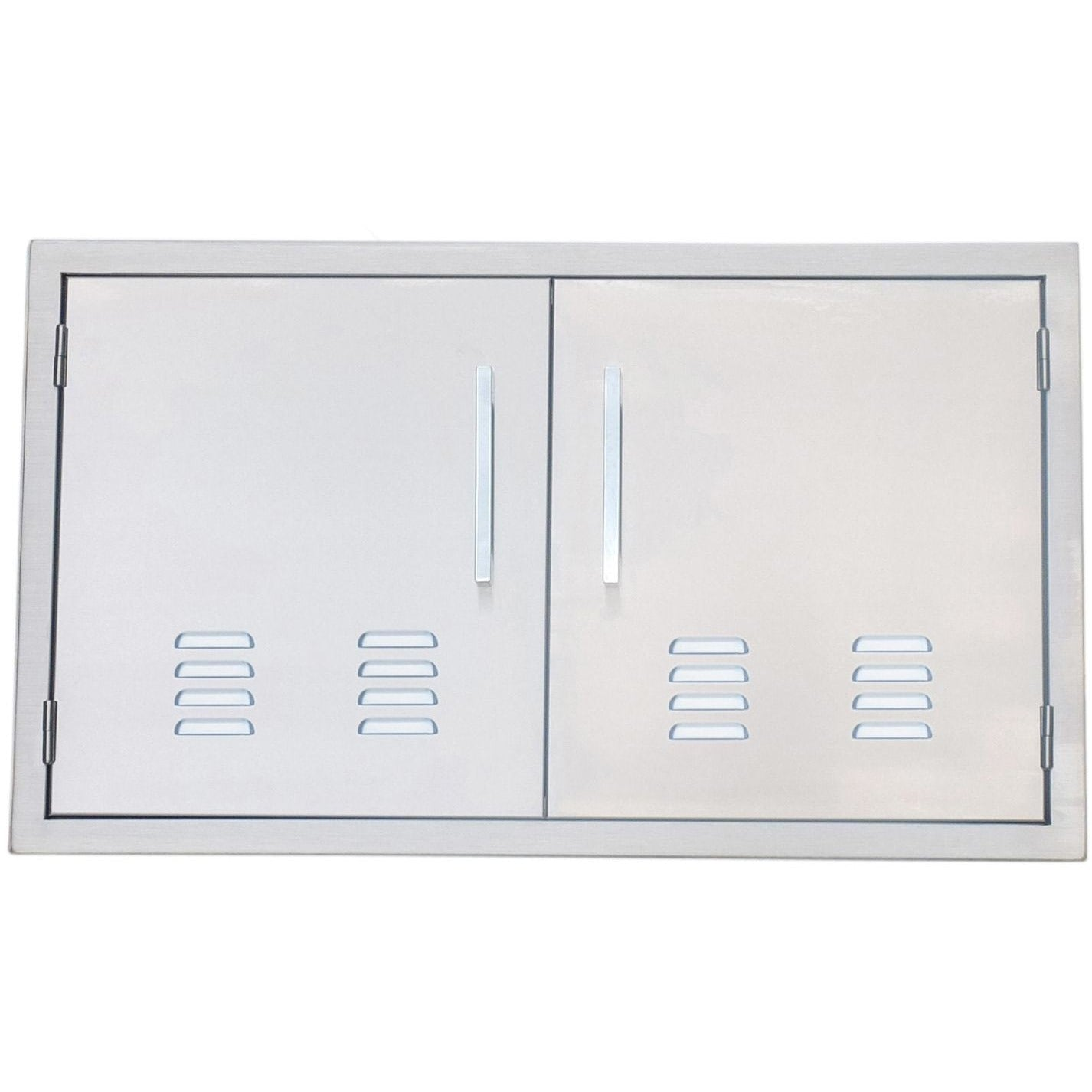... Sunstone 36 inch beveled frame vented double door BA-VDD36 - Mu0026K Grills ...  sc 1 st  Mu0026K Grills : beveled door - Pezcame.Com