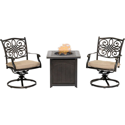 hanover-traditions-3-piece-2-swivel-rockers-and-26-inch-square-fire-pit-trad3pcswfpsq-tan
