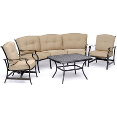 hanover-traditions-4-piece-set-sofa-2-cushion-rockers-cast-top-coffee-table-trad4pcct-tan