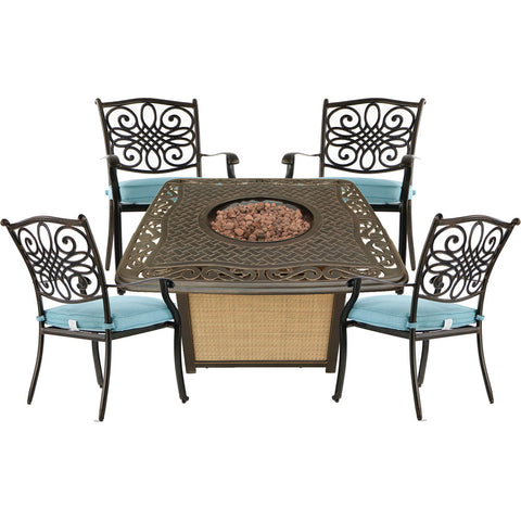 hanover-traditions-5-piece-fire-pit-4-dining-chairs-and-cast-top-fire-pit-trad5pccfp-blu