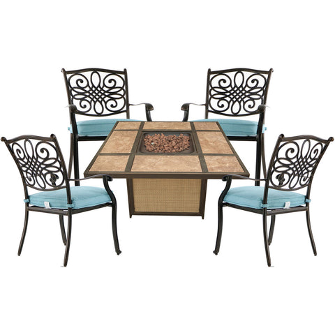 hanover-traditions-5-piece-fire-pit-4-dining-chairs-and-tile-top-fire-pit-trad5pctfp-blu