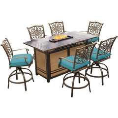 hanover-traditions-7-piece-fire-pit-high-dining-6-swivel-counter-chairs-fire-pit-dining-table-trad7pcfpbr-blu