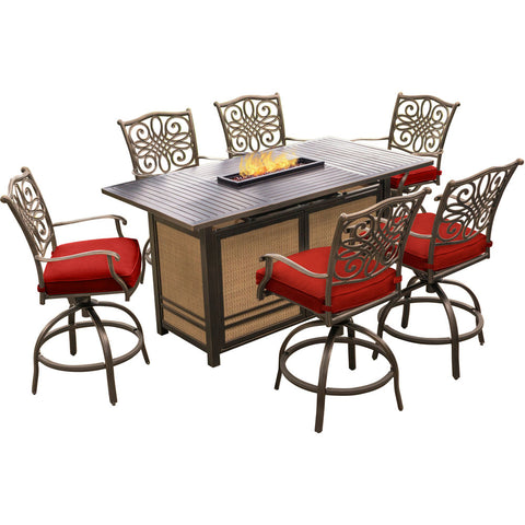 hanover-traditions-7-piece-fire-pit-high-dining-6-swivel-counter-chairs-fire-pit-dining-tb-trad7pcfpbr-red