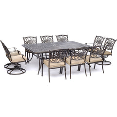 hanover-traditions-11-piece-6-dining-chairs-4-swivel-rockers-60x84-inch-cast-table-traddn11pcsw4