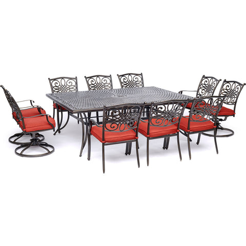 hanover-traditions-11-piece-6-dining-chairs-4-swivel-rockers-60x84-inch-cast-table-traddn11pcsw4-red