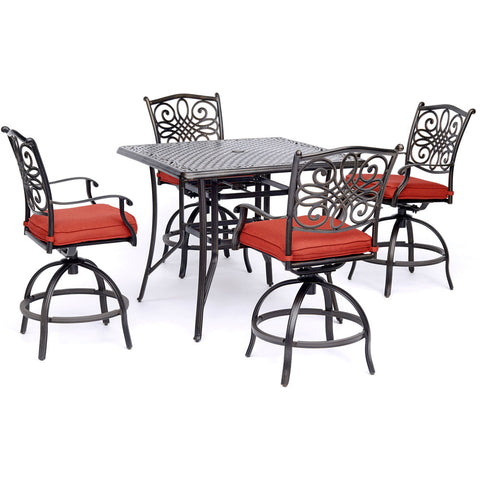 hanover-traditions-5-piece-4-counter-height-swivel-chairs-42-inch-square-cast-table-36-inch-height-traddn5pcsqbr-r
