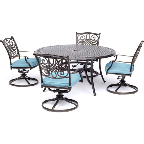 hanover-traditions-5-piece-4-swivel-rockers-48-inch-round-cast-table-traddn5pcsw-blu
