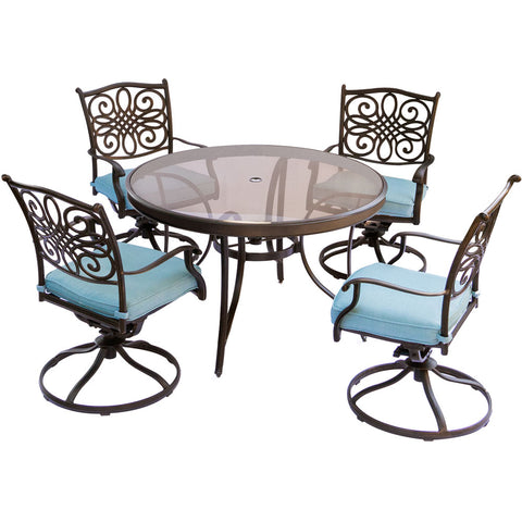 hanover-traditions-5-piece-4-swivel-rockers-48-inch-round-glass-top-table-traddn5pcswg-blu