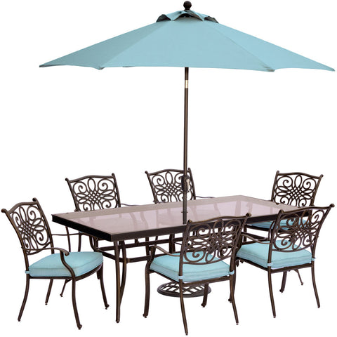 hanover-traditions-7-piece-6-dining-chairs-42x84-inch-glass-top-table-umbrella-base-traddn7pcg-su-b
