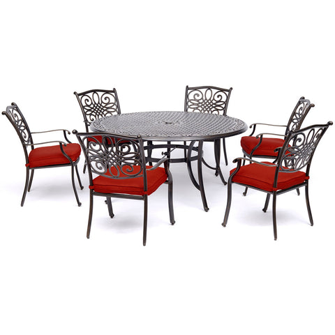 hanover-traditions-7-piece-6-dining-chairs-60-inch-round-cast-table-traddn7pcrd-red