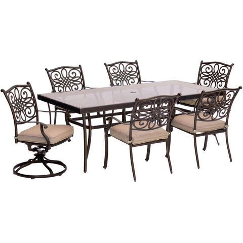 hanover-traditions-7-piece-4-dining-chairs-2-swivel-rockers-42x84-inch-glass-top-table-traddn7pcsw2g
