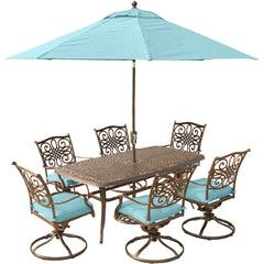 hanover-traditions-7-piece-6-swivel-rockers-38x72-inch-cast-table-umbrella-base-traddn7pcsw6-su-b