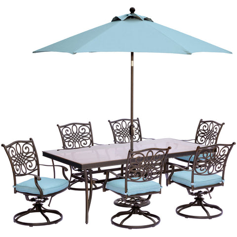 hanover-traditions-7-piece-6-swivel-rockers-42x84-inch-glass-top-table-umbrella-base-traddn7pcswg-su-b