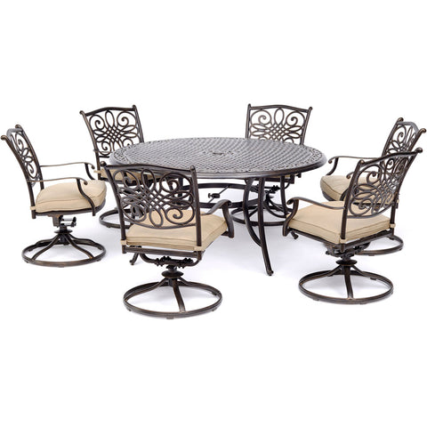 hanover-traditions-7-piece-6-swivel-rockers-60-inch-round-cast-table-traddn7pcswrd6