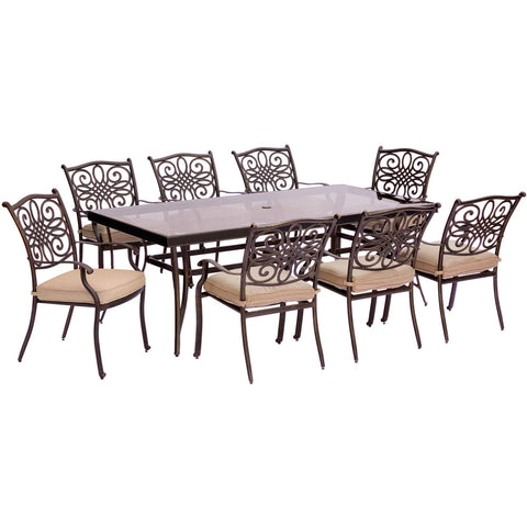 hanover-traditions-9-piece-8-dining-chairs-42x84-inch-glass-top-table-traddn9pcg