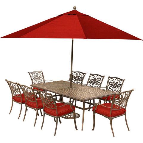 hanover-traditions-9-piece-8-dining-chairs-42x84-inch-cast-table-umbrella-base-traddn9pc-su-r