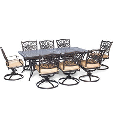 hanover-traditions-9-piece-8-swivel-rockers-42x84-inch-cast-table-traddn9pcsw-8