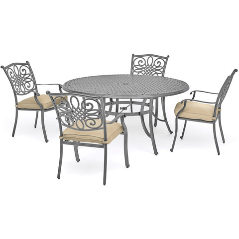 hanover-traditions-5-piece-4-dining-chairs-48-inch-round-cast-table-traddng5pc-tan