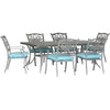 Image of hanover-traditions-7-piece-6-dining-chairs-38x72-inch-cast-table-traddng7pc-blu