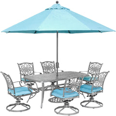 hanover-traditions-7-piece-6-swivel-rockers-38x72-inch-cast-table-umbrella-and-base-traddng7pcsw6-su-b