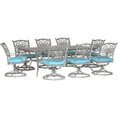 hanover-traditions-9-piece-8-swivel-rockers-42x84-inch-cast-table-traddng9pcsw8-blu