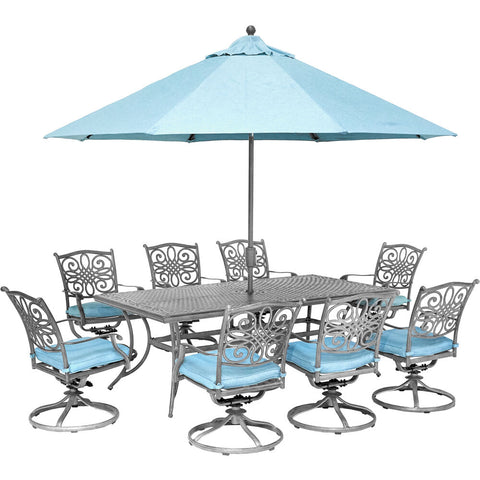 hanover-traditions-9-piece-8-swivel-rockers-42x84-inch-cast-table-umbrella-and-base-traddng9pcsw8-su-b