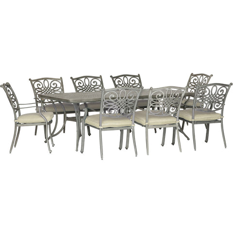 hanover-traditions-9-piece-8-dining-chairs-42x84-inch-cast-table-traddng9pc-tan