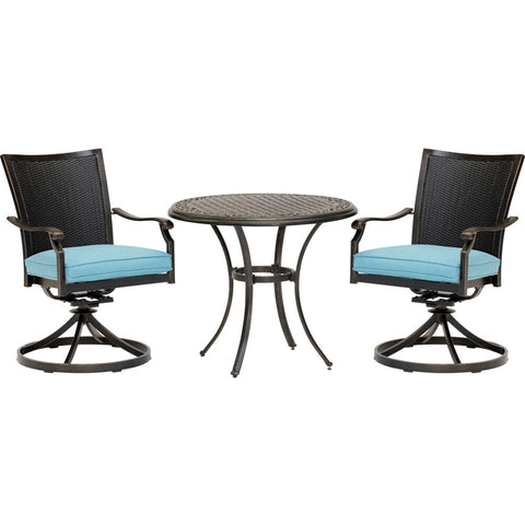 hanover-traditions-3-piece-2-wicker-back-swivel-rockers-32-inch-round-cast-table-traddnwb3pcswc-blu