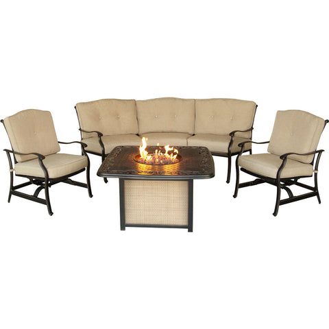 hanover-traditions-4-piece-fire-pit-cast-top-fire-pit-crescent-sofa-2-cushion-rockers-traditions4pcfp
