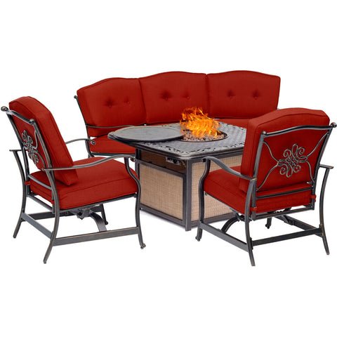 hanover-traditions-4-piece-fire-pit-cast-top-fire-pit-crescent-sofa-2-cushion-rockers-traditions4pcfp-red