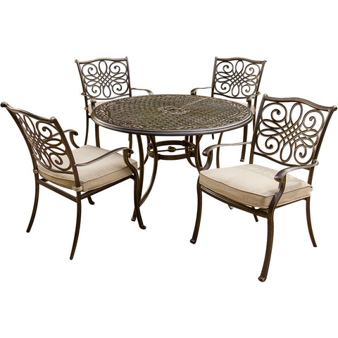 hanover-traditions-5-piece-4-dining-chairs-48-inch-round-cast-table-traditions5pc