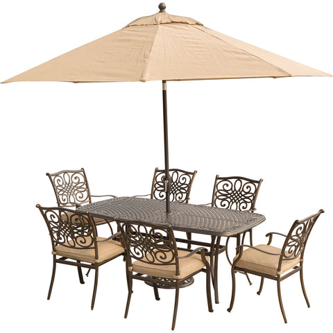 hanover-traditions-7-piece-6-dining-chairs-38x72-inch-cast-table-umbrella-base-traditions7pc-su