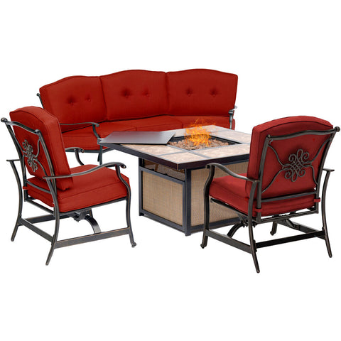 hanover-traditions-4-piece-fire-pit-tile-top-fire-pit-crescent-sofa-2-cushion-rockers-tradtile4pcfp-red