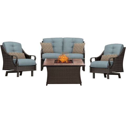 hanover-ventura-4-piece-fire-pit-set-with-tan-tile-top-ven4pcfp-blu-tn