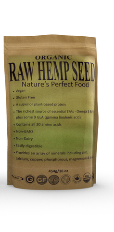 Certified Organic Hemp Seeds Shelled