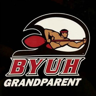 Sticker Decal, Premium Automotive for BYUH Grandparents